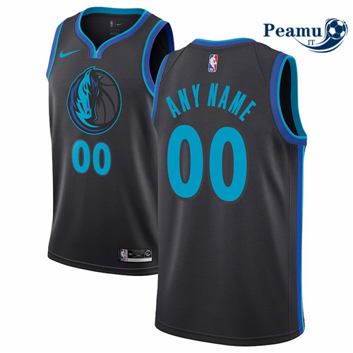Peamu - Custom, Dallas Mavericks 2018/19 - City Edition