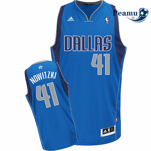 Peamu - Dirk Nowitzki Dallas Mavericks [Azul]