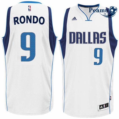 Peamu - Rajon Rondo, Dallas Mavericks - Blanco
