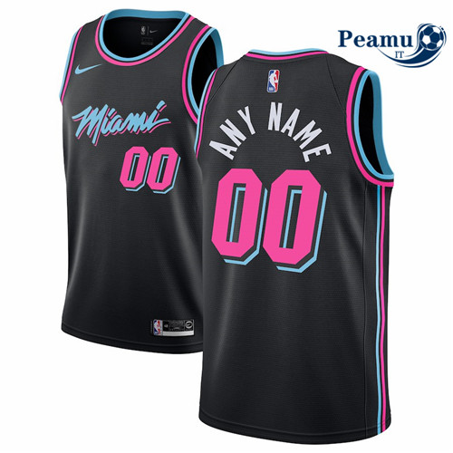 Peamu - Custom, Miami Heat 2018/19 2018/19 - City Edition