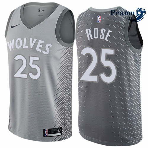 Peamu - Derrick Rose, Minnesota Timberwolves - City Edition