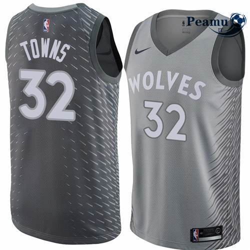 Peamu - Karl-Anthony Towns, Minnesota Timberwolves - City Edition