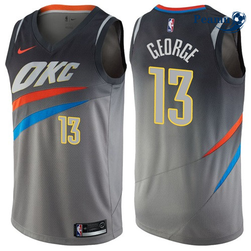 Peamu - Paul George, Oklahoma City Thunder - City Edition