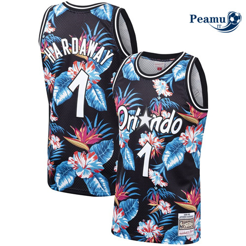 Peamu - Penny Hardaway, Orlando Magic - Mitchell & Ness Floral Pack