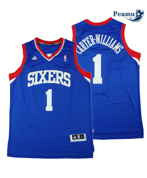 Peamu - Michael Carter-Williams, Philadelphia 76ers - Azul