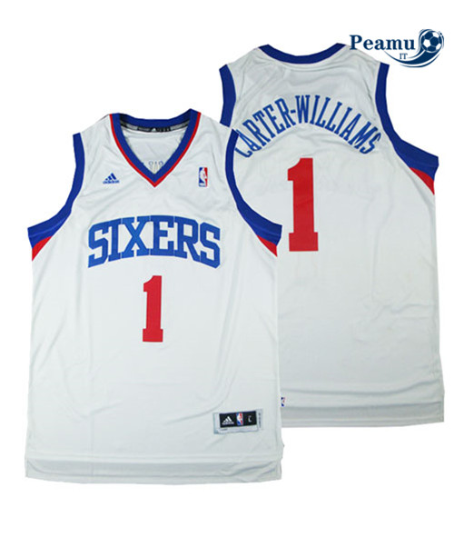 Peamu - Michael Carter-Williams, Philadelphia 76ers - Blanco