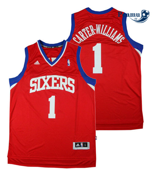 Peamu - Michael Carter-Williams, Philadelphia 76ers - Rojo