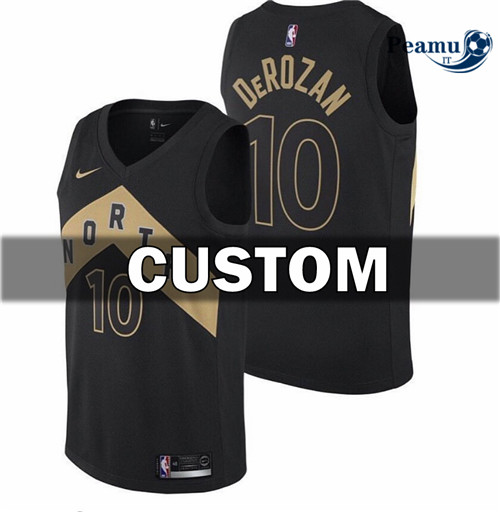 Peamu - Custom, Toronto Raptors - City Edition