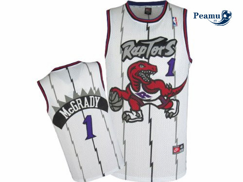 Peamu - Tracy McGrady, Toronto Raptors [Blanca]