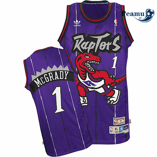 Peamu - Tracy McGrady, Toronto Raptors [Morada]