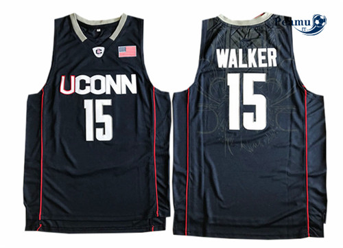 Peamu - Kemba Walker, Connecticut Huskies [Bleu Marine]