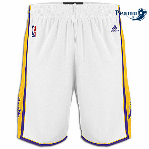 Peamu - Short Los Angeles Lakers [Blanco]