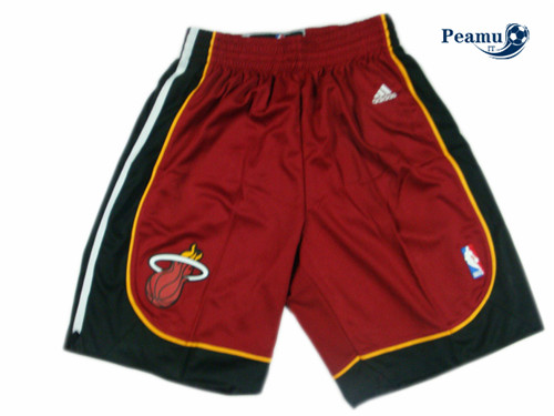 Peamu - Short Miami Heat [Rojo]