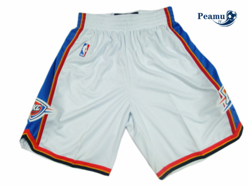 Peamu - Short Oklahoma City Thunder [Blanco]