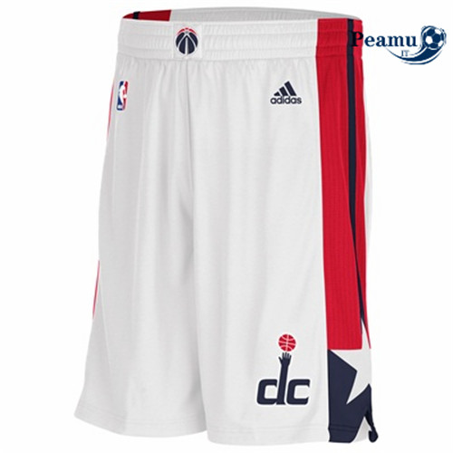 Peamu - Short Washington Wizards [Blanco]