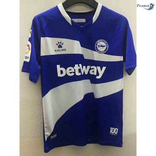 Peamu - Maillot foot Alaves commemorative Bleu 2021-2022
