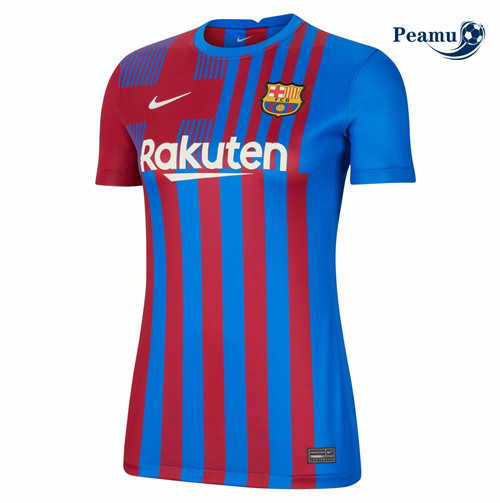 Peamu - Maillot foot Barcelone Femme Domicile 2021-2022