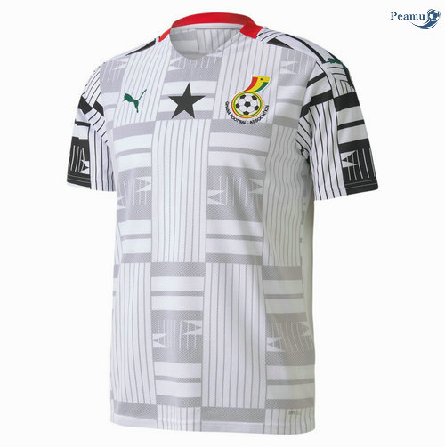 Peamu - Maillot foot Ghana Domicile 2020-2021