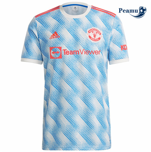Peamu - Maillot foot Manchester United Exterieur 2021-2022