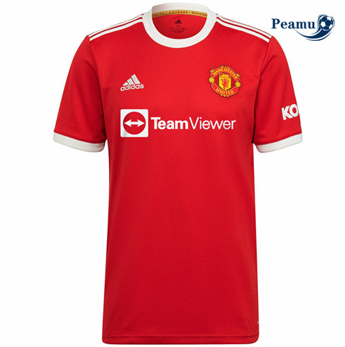 Peamu - Maillot foot Manchester United Domicile 2021-2022
