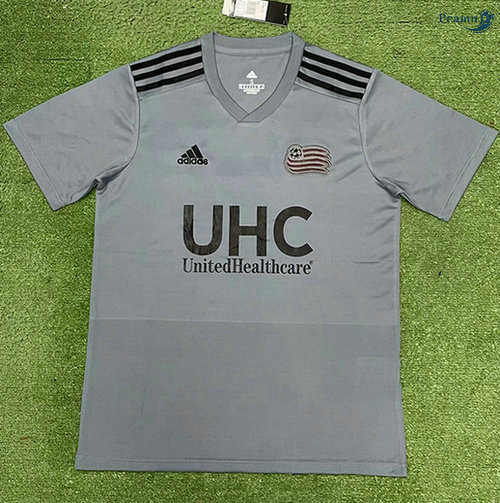 Peamu - Maillot foot New England Revolution Gris 2021-2022