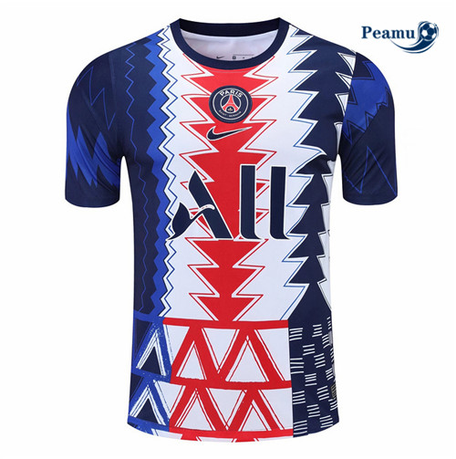 Peamu - Maillot foot PSG Pre-Match training 2021-2022