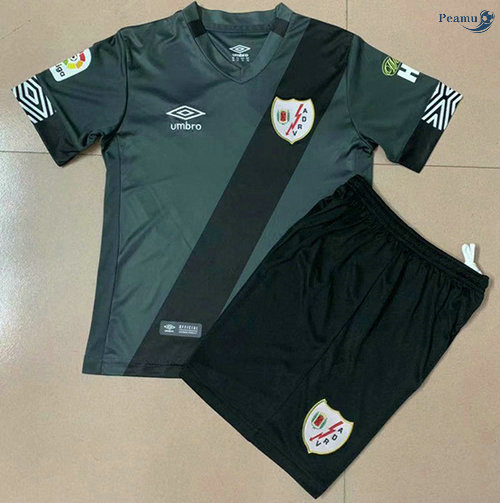 Peamu - Maillot foot Rayo Vallecano Enfant Exterieur 2020-2021