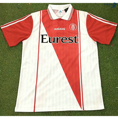 Peamu - Maillot foot Retro AS Monaco Domicile 1996-97