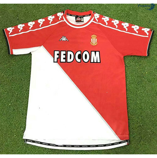 Peamu - Maillot foot Retro AS Monaco Domicile 1999-00
