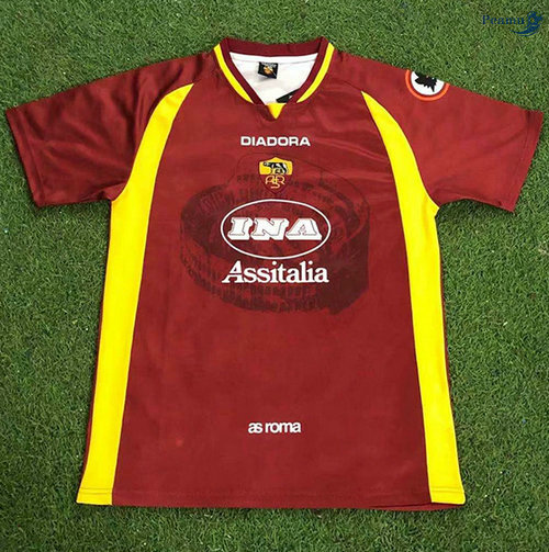 Peamu - Maillot foot Retro AS Roma Domicile 1997-98