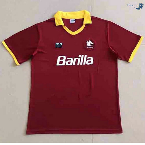Peamu - Maillot foot Retro AS Roma Domicile 1989-90