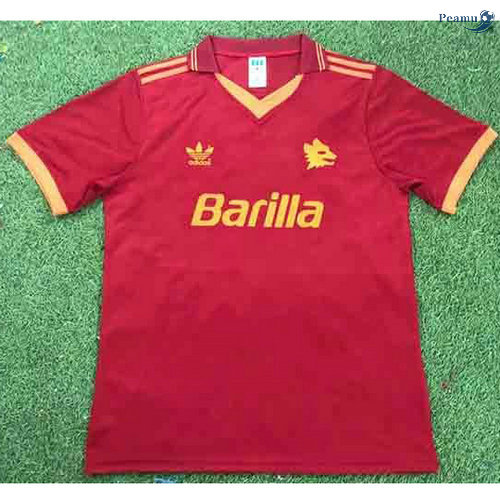 Peamu - Maillot foot Retro AS Roma Domicile 1992-94