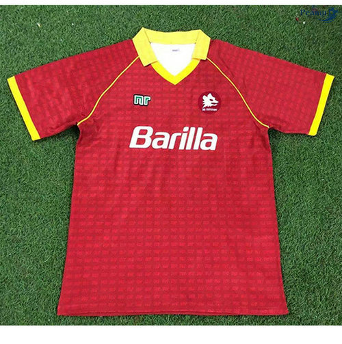 Peamu - Maillot foot Retro AS Roma Domicile 1990-91