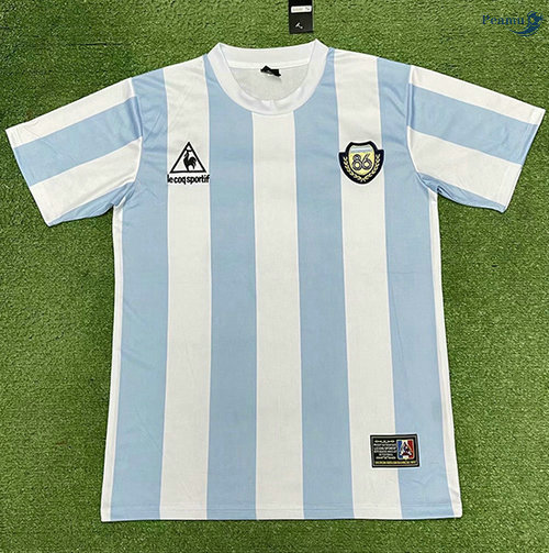 Peamu - Maillot foot Retro Argentine champion édition commémorative 1986