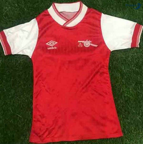 Peamu - Maillot foot Retro Arsenal Rouge 1984-85