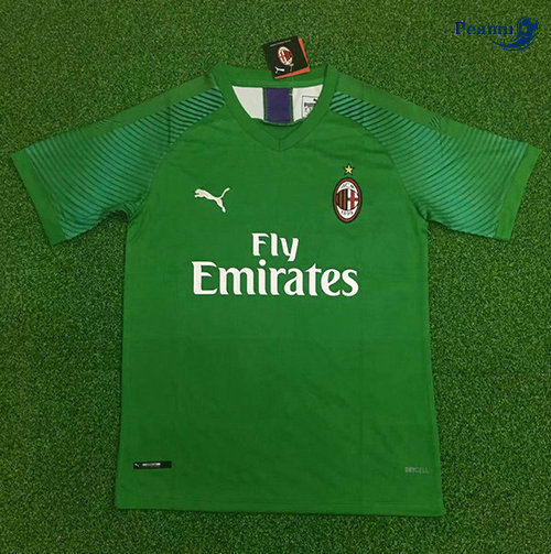 Maillot foot AC Milan Portiere Verde 2019-2020