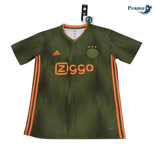 Maillot foot AFC Ajax Classic version Verde 2019-2020