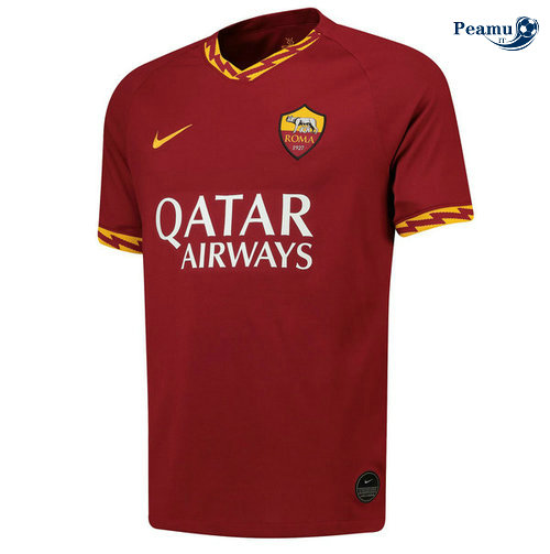 Maillot foot AS Rome Domicile Jujube Rouge 2019-2020