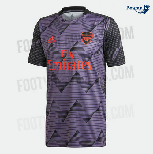 Maillot foot Arsenal PRE-MATCH Porpora 2019-2020