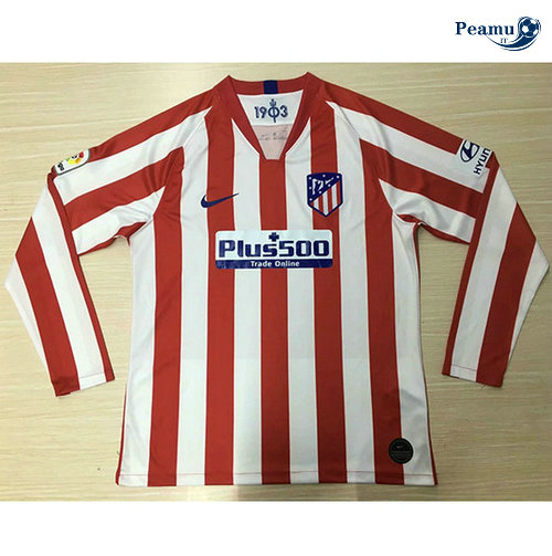 Maillot foot Atletico Madrid Domicile Manche Longue 2019-2020