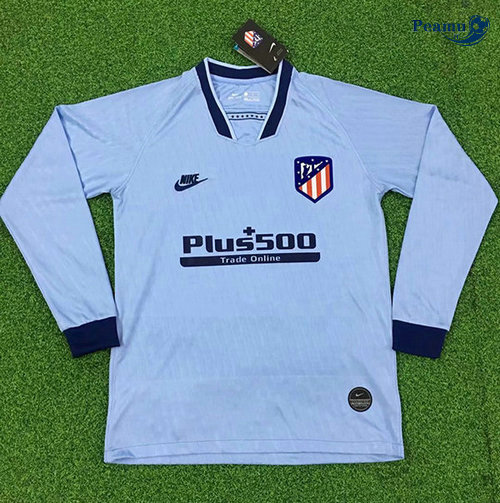 Maillot foot Atletico Madrid Third Manche Longue 2019-2020