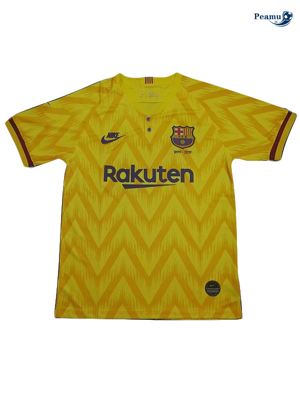 Maillot foot Barcelone 120e ​​anniversaireedition Jaune 2019-2020