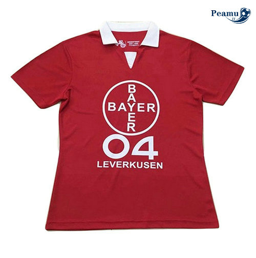 Maillot foot Bayer leverkusen Rouge 2019-2020