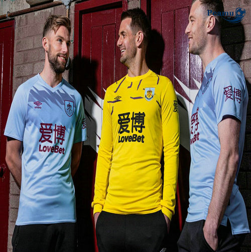 Maillot foot Burnley Exterieur 2019-2020