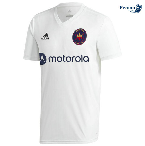 Maillot foot Chicago Fire Exterieur Bianco 2020-2021