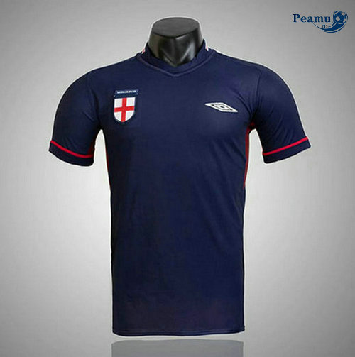 Classico Maglie Angleterre Bleu navy 2002