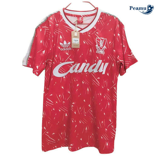 Classico Maglie Liverpool Rouge 1989