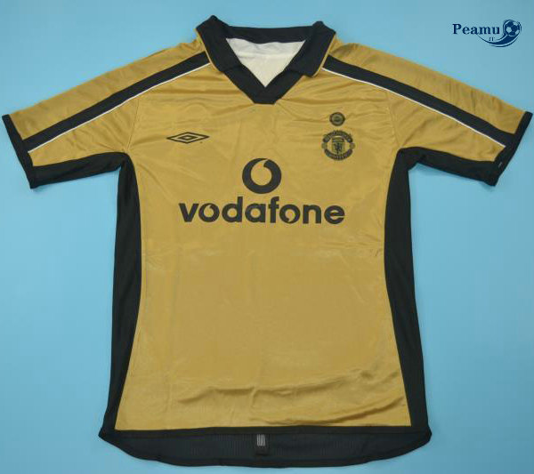Classico Maglie Manchester United Third Or 2001-02