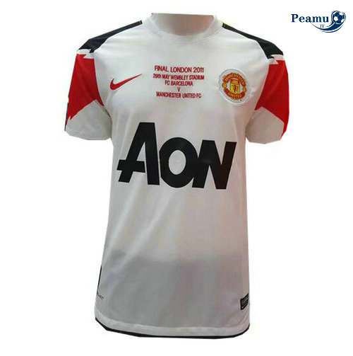 Classico Maglie Manchester United Exterieur 2011