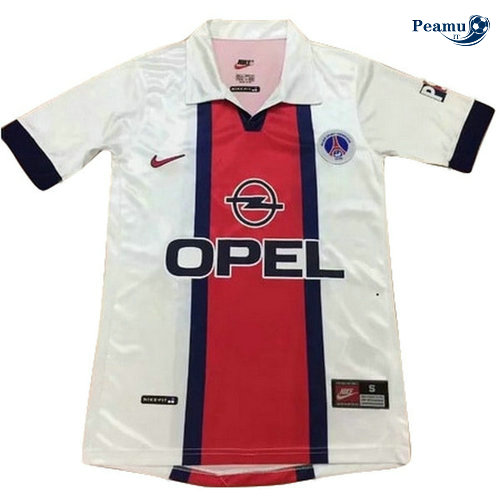 Classico Maglie PSG Bianco/Rouge 1998